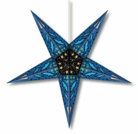 Dolphin Star Lamp - Click Image to Close