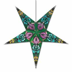Green Lotus Star Light