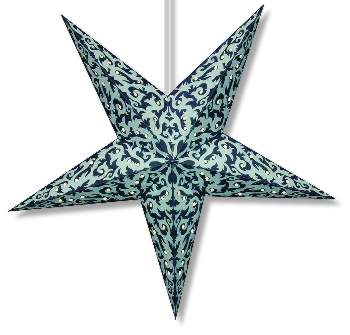 Tribal Design Paper Star Lamp